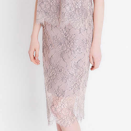 (3 Weeks) [Lace] GABRIELLE : Skirt