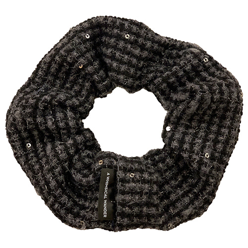 TWEED DONUT (CHARCOAL)