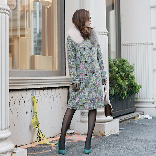AMELIE : COAT (GREEN)