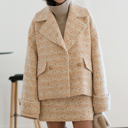 Pêche (Peach) : Short Coat