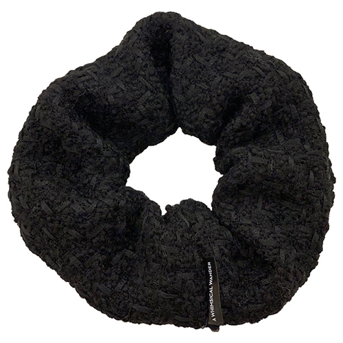 TWEED DONUT (BLACK)